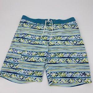New Tommy Bahama Board Style Swim Trunks Print XL